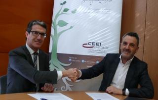 CEEI Castellón y Lanzadera unen fuerzas por el emprendimiento en Castellón