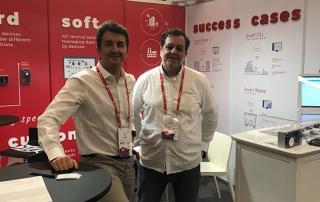 IoTsens y PaynoPain exponen su innovación en el Mobile World Congress