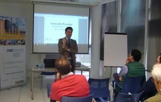 Jornada sobre inversión privada para Startups en CEEIAragón