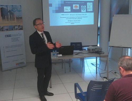Desayuno tecnológico en CEEIARAGON sobre protección industrial y novedades normativas