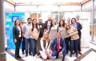 Una quincena de emprendedores concluye con éxito en Valdepeñas el programa 'Creación y consolidación de empresas creativas y culturales'