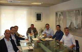 Álvaro Simón mantiene una reunión con representantes de ADER tras su incorporación a ANCES