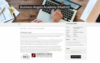 EOI, ANCES y Keiretsu Business Angels Network organizan el segundo Academy para Business Angels