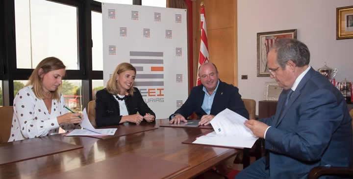 El CEEI Asturias y Fundación Escuela de Mareo Real Sporting de Gijón impulsan el emprendimiento y la innovación en el deporte