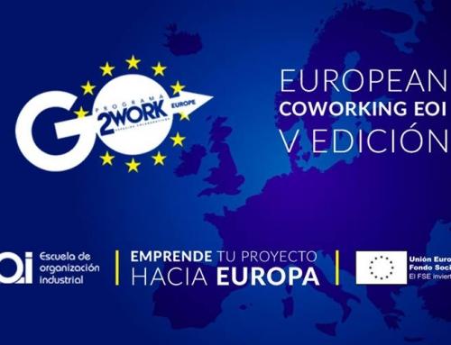 European Coworkings EOI ofrece mentorización y estancia gratuitas en un centro de emprendimiento europeo