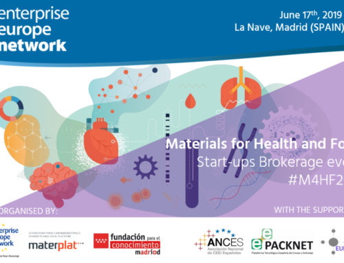 Llega Materials for Health and Food Start-ups Brockerage event, el encuentro entre inversores y start-ups de la salud y la alimentación