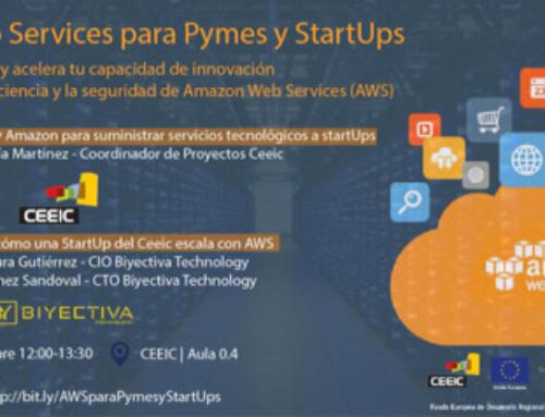 Sube tu startup o pyme a la nube con Amazon Web Services, en el CEEIC Cartagena