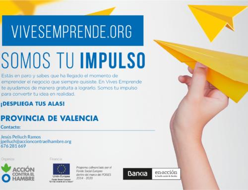 CEEI Valencia colabora con 'VIVES EMPRENDE', el programa para personas que quieran emprender