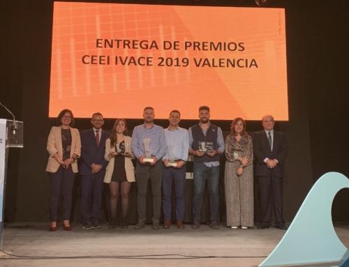 Ocenic Resins y Aerox, ganadores de los Premios  CEEI IVACE 2019 Valencia