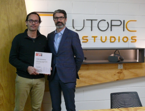 La castellonense Utopic Estudios, reconocida por ANCES como Empresa Innovadora de Base Tecnológica (EIBT)
