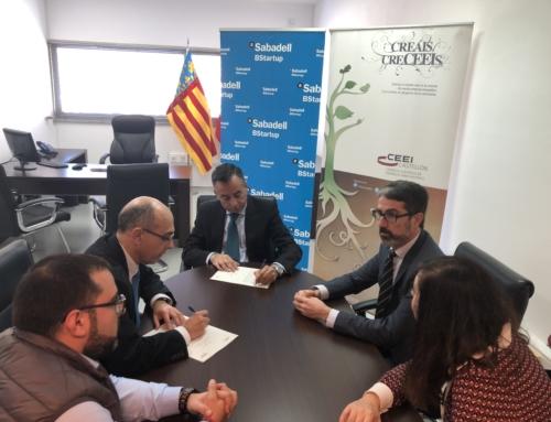 CEEI Castellón y Banco Sabadell renuevan su compromiso común con los emprendedores