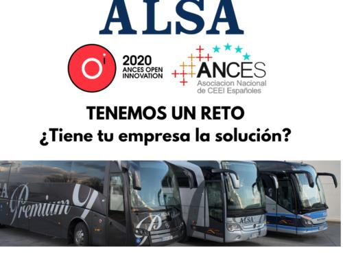 Alsa lanza un reto de Ances Open Innovation para mejorar la sostenibilidad y movilidad del transporte en Asturias