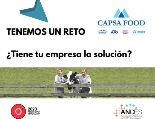 Capsa Food (Central Lechera Asturiana), presente en Ances Open Innovation con un reto para reforzar la sostenibilidad de sus ganaderos