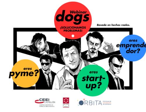 Webinar Dogs, soluciones para los problemas de las startups desde CEEI Castellón