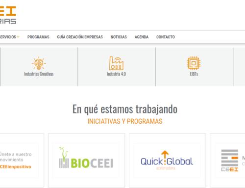 CEEI Asturias renueva su web para impulsar su comunicación externa e interna