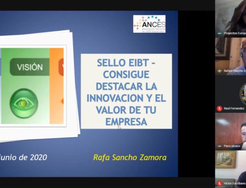 """""""Sello EIBT, consigue destacar la innovación y el valor de tu empresa"""", taller de Rafa Sancho en CEEI Guadalajara"""